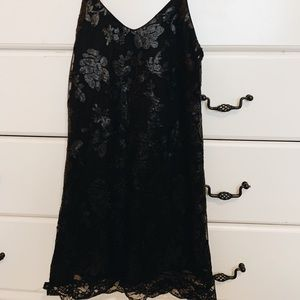 LF SEQUIN BLACK DRESS